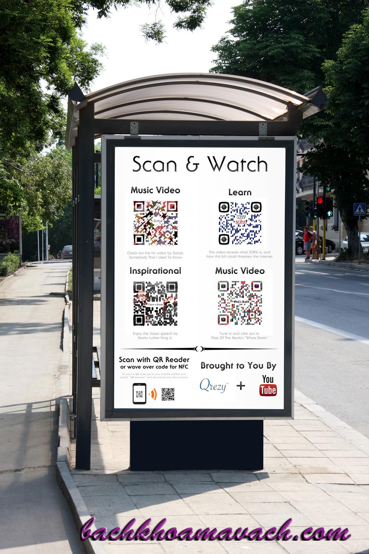 Giải pháp mã vạch trong quảng cáo, Ứng dụng mã vạch trong quảng cáo, Quảng cáo sản phẩm bằng mã vạch