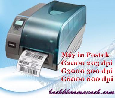 máy in tem nhãn Postek chính hãng G6000