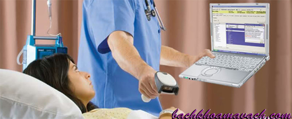 Kiểm tra thông tin bằng quét mã vạch, Quét mã vạch cho bệnh nhân, check mã vạch