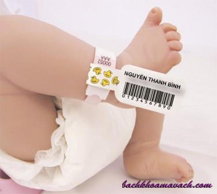 Giải pháp mã vạch trong y tế, quản lý bệnh nhân, trẻ sơ sinh