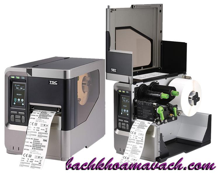 Máy in TSC MX240P chính hãng, Máy in công nghiệp MX240P chính hãng, Máy in barcode TSC chính hãng