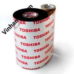 Mực in mã vạch Toshiba Wax AW1 chính hãng
