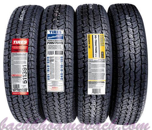 Mã vạch cho lốp xe