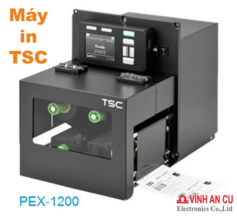Máy in TSC PEX-1000 series chính hãng, Máy in TSC sắp ra mắt, May in TSC, máy in mã vạch TSC sắp ra mắt