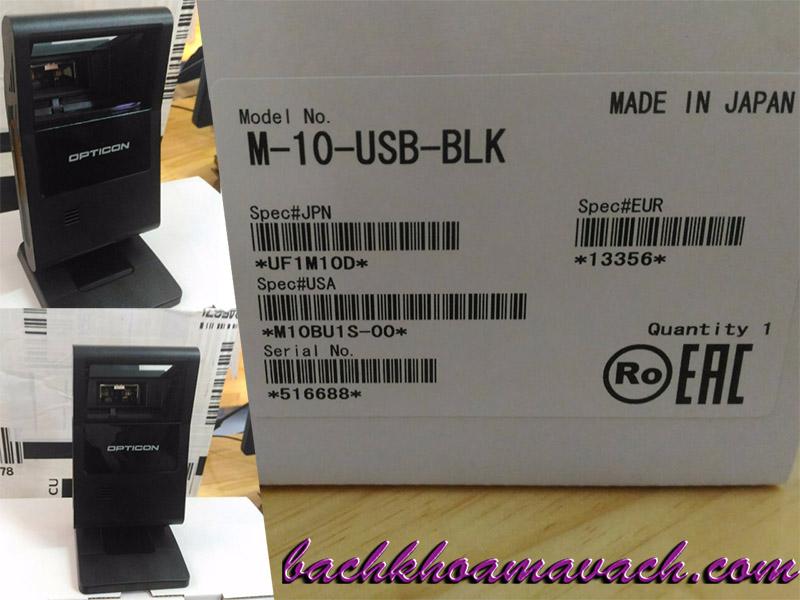 Máy quét mã vạch đa tia Opticon M-10 chính hãng